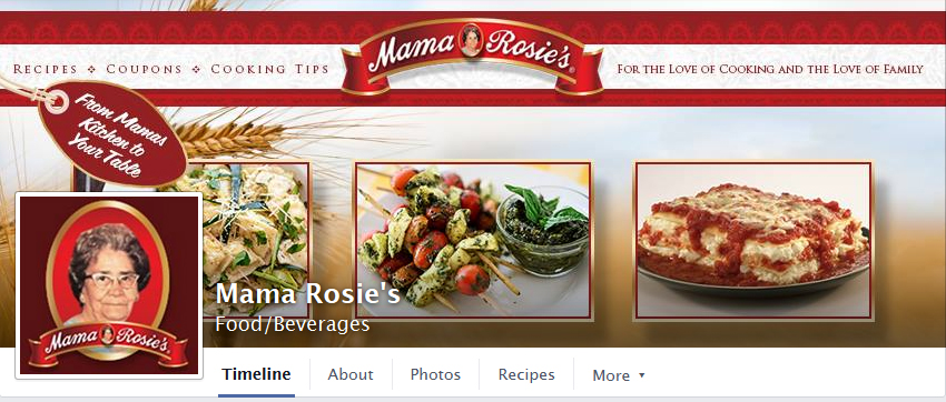 Mama Rosie's Facebook