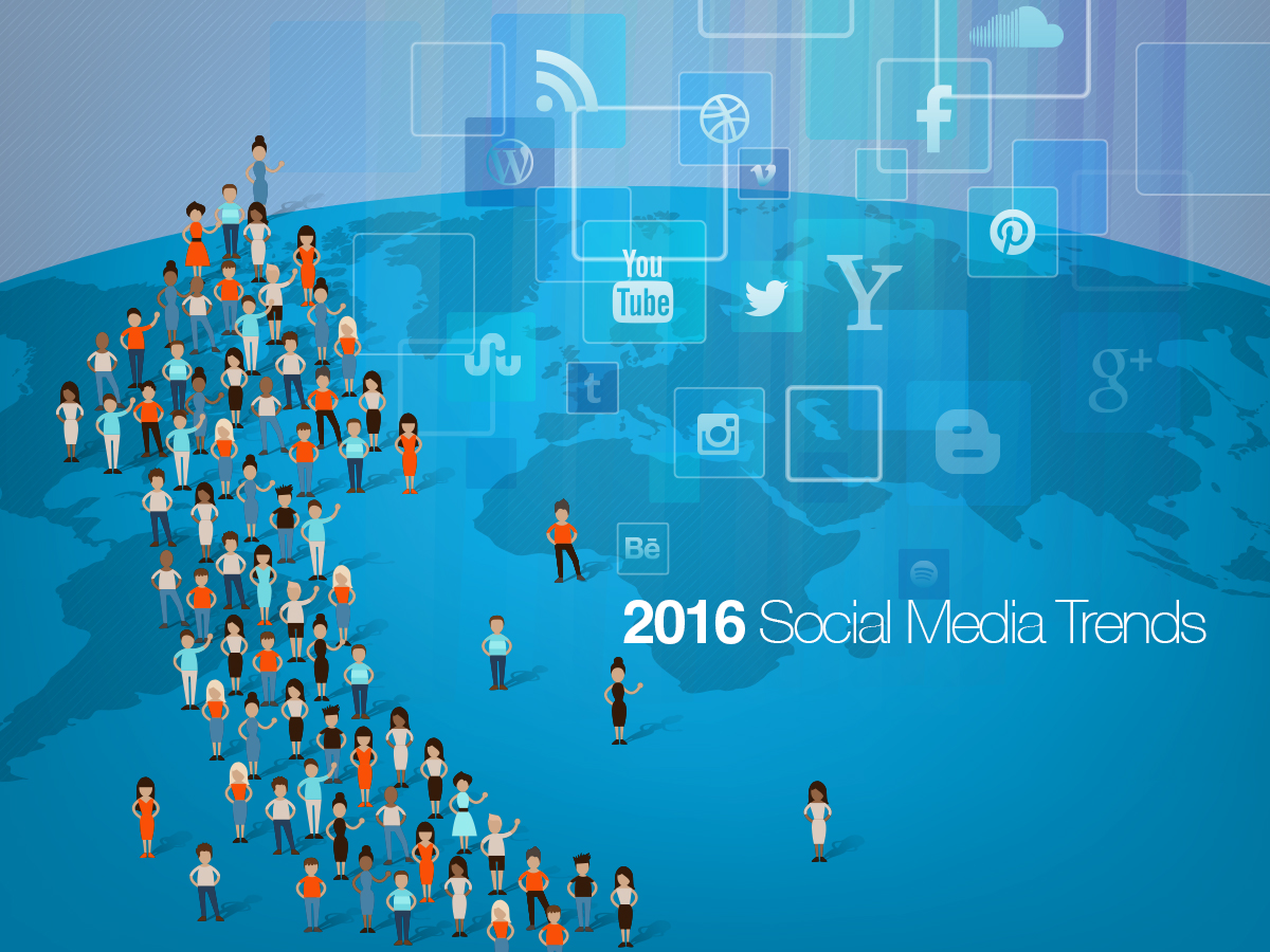 Social Media Marketing Trends for 2016