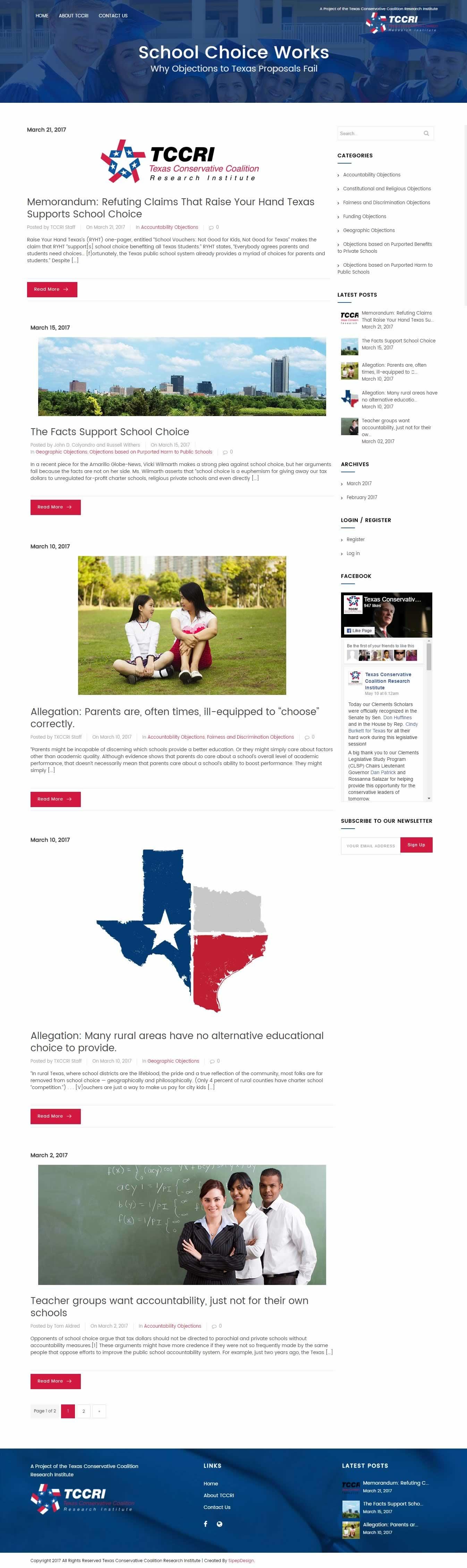 Texas School Choice Works